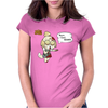 Isabelle - Zombie Crossing Womens Fitted T-Shirt