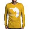 iShoot - camera photographer trained shooting funny gun photo gift tee Mens Long Sleeve T-Shirt