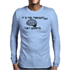 It is the thoughtless that counts Mens Long Sleeve T-Shirt