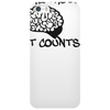 It is the thoughtless that counts Phone Case