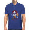 IT Pennywise Clown Mens Polo
