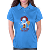 IT Pennywise Clown Womens Polo