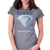It´s hard to be a diamond Womens Fitted T-Shirt