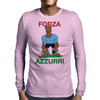Italy Rugby 2nd Row Forward World Cup Mens Long Sleeve T-Shirt