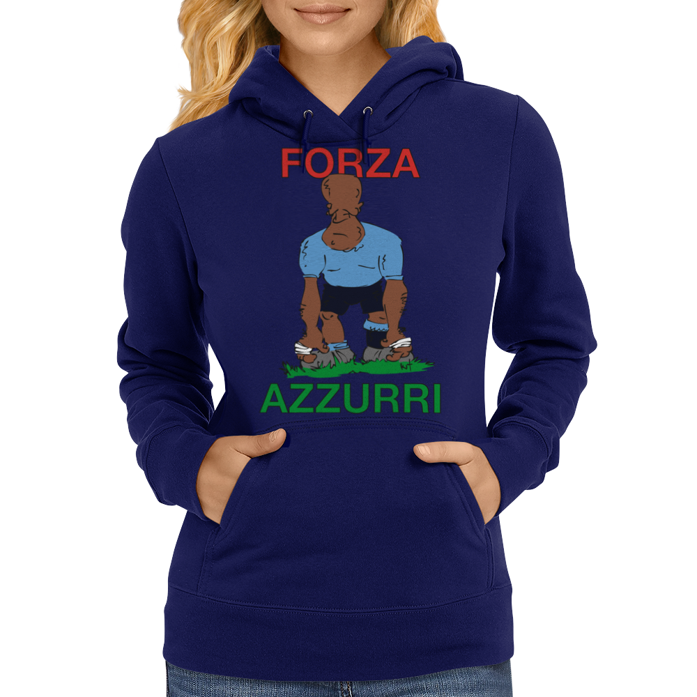 Italy Rugby 2nd Row Forward World Cup Womens Hoodie
