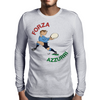 Italy Rugby Back World Cup Mens Long Sleeve T-Shirt