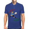 Italy Rugby Back World Cup Mens Polo