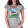 Italy Rugby Forward World Cup Womens Fitted T-Shirt