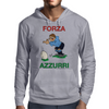 Italy Rugby Kicker World Cup Mens Hoodie