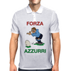 Italy Rugby Kicker World Cup Mens Polo