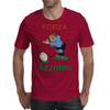 Italy Rugby Kicker World Cup Mens T-Shirt