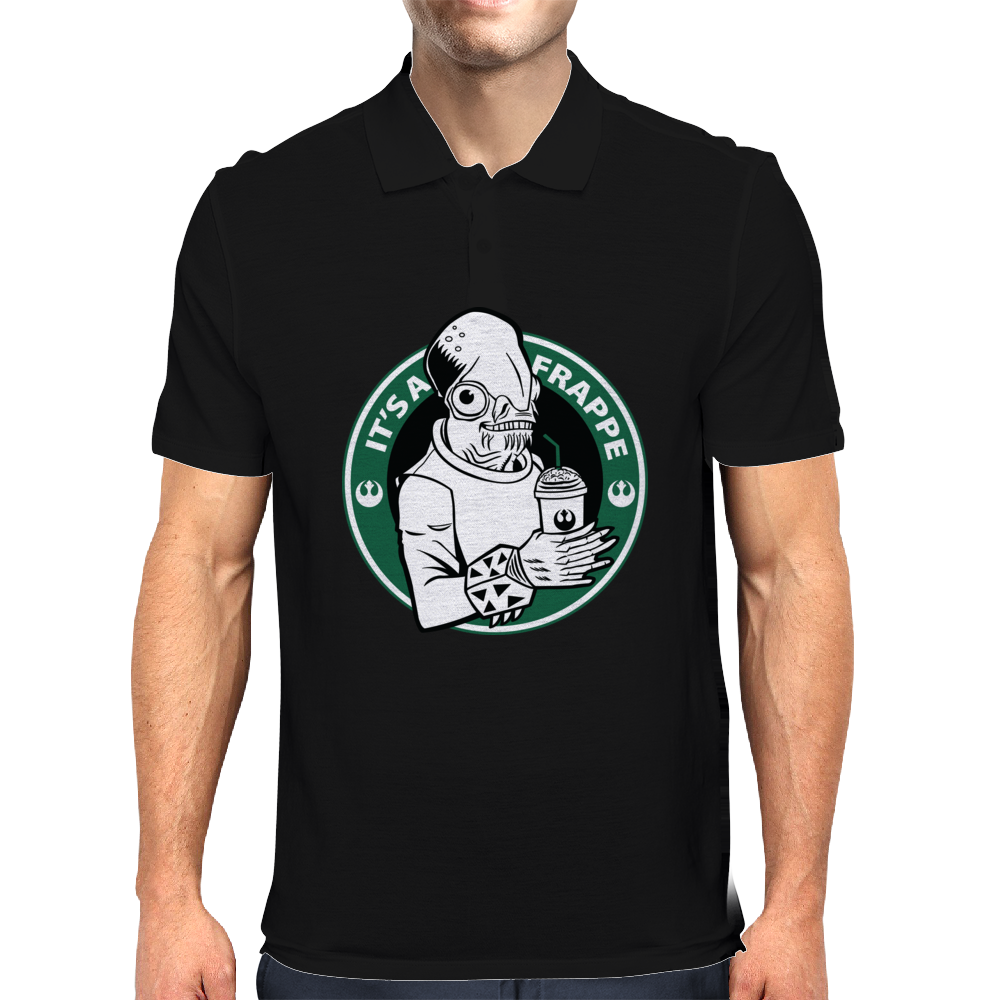 It's a Frappe! Mens Polo