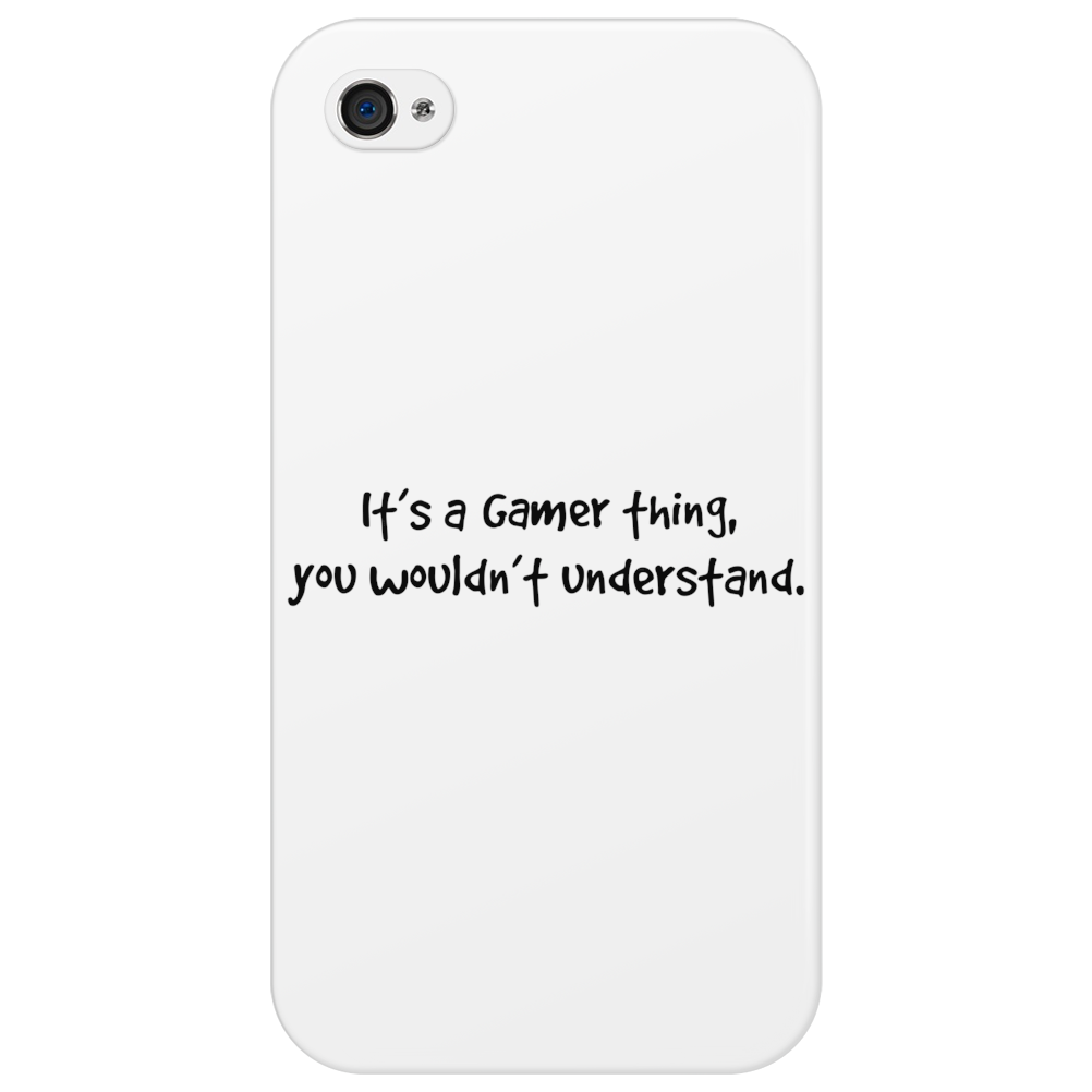 It's a gamer thing, you wouldn't understand. Phone Case