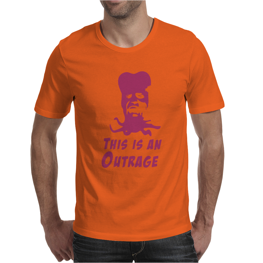 It's An Outrage Mighty Boosh Inspired Mens T-Shirt