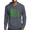 It's Because I'm Green, Isn't It Cute Christmas Mens Hoodie