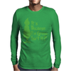It's Because I'm Green, Isn't It Cute Christmas Mens Long Sleeve T-Shirt