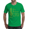It's Because I'm Green, Isn't It Cute Christmas Mens T-Shirt