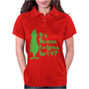 It's Because I'm Green, Isn't It Cute Christmas Womens Polo
