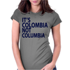It's Colombia not Columbia Womens Fitted T-Shirt