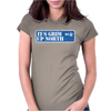 It's Grim Up North Womens Fitted T-Shirt