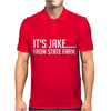 It's Jake From State Farm Funny Mens Polo