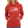 It's Not A Hangover It's Wine Flu Womens Hoodie