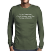 IT'S NOT SARCASM Mens Long Sleeve T-Shirt