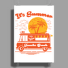 It's Summer Poster Print (Portrait)