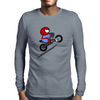 ITSY BITSY SPIDER BIKER Mens Long Sleeve T-Shirt