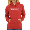 I've Had It Up To Here With Midgets Womens Hoodie