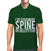 I've Seen More Spine In Jellyfish Mens Polo
