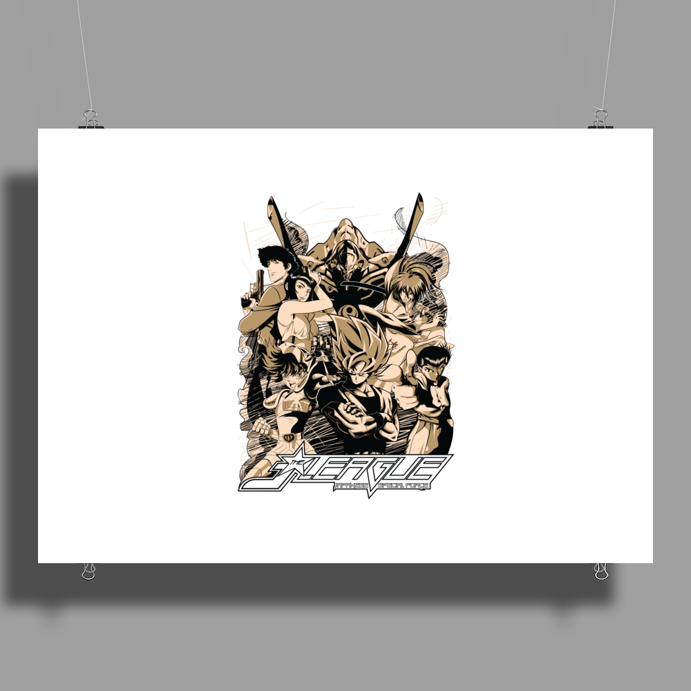 J-LEAGUE | JAPANESE SPECIAL FORCE Poster Print (Landscape)