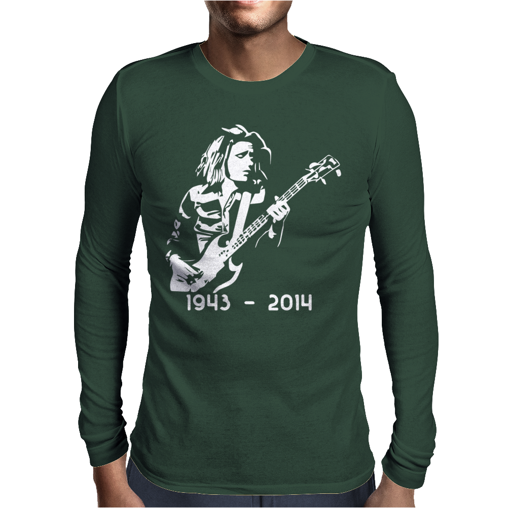 Jack Bruce of Cream Mens Long Sleeve T-Shirt