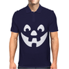 Jack O Lantern Halloween Mens Polo