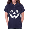 Jack O Lantern Halloween Womens Polo