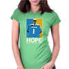Jacksonville Football Justin Blackmon Hope Womens Fitted T-Shirt