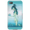Jade with Bosoms (Jade mit Busen) Pastell/Coal Drawing on Phone Case von Ninaboosart Phone Case