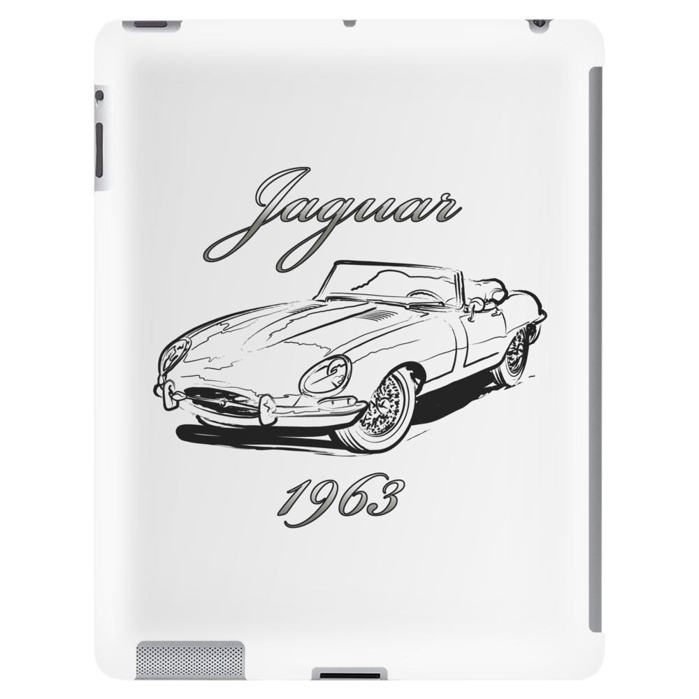 Jaguar 1963 art Tablet