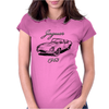 Jaguar 1963 art Womens Fitted T-Shirt