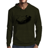 Jaguar E-Type Roadster Classic British Sports Car Mens Hoodie