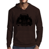Jaguar XK150 Classic British Sports Car Mens Hoodie