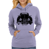 Jaguar XK150 Classic British Sports Car Womens Hoodie