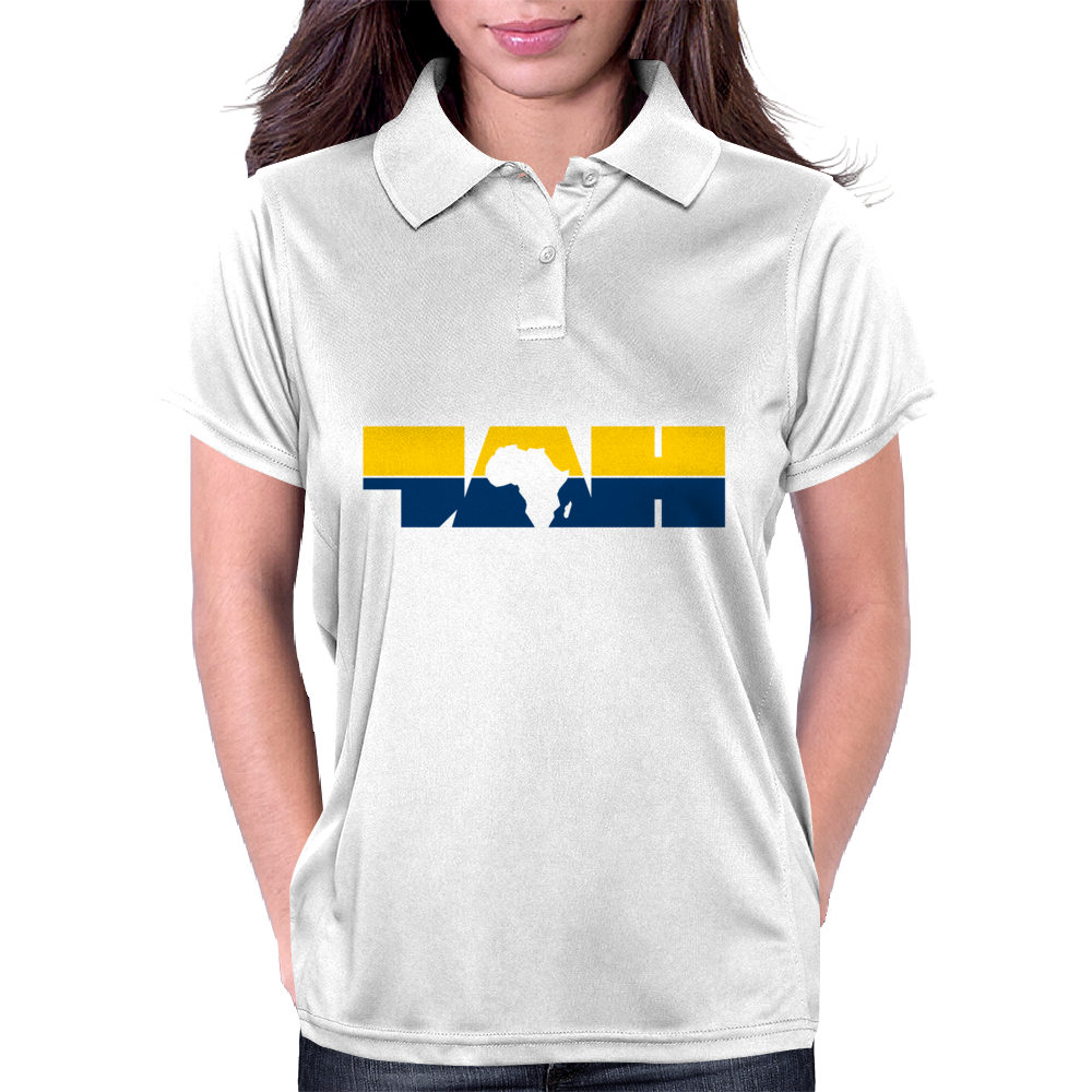 Jah-Frica Gold Marine Womens Polo
