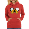 Jake Dog Adventure Womens Hoodie