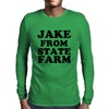 JAKE FROM STATE FARM Mens Long Sleeve T-Shirt