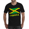 Jamaica Flag Crest Muay Thai Mens T-Shirt