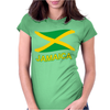 Jamaica Flag Crest Muay Thai Womens Fitted T-Shirt