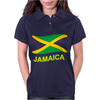 Jamaica Flag Crest Muay Thai Womens Polo