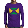 Jamaica InternationalSupport Your Country Sport Flag Mens Long Sleeve T-Shirt