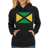Jamaica InternationalSupport Your Country Sport Flag Womens Hoodie